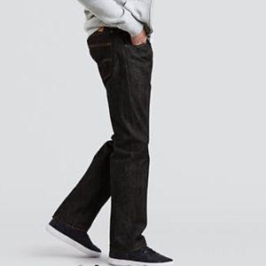 LEVI'S Original 501 Pre-Shrunk Dark indigo Jeans